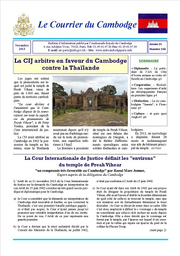 150-Courrier du Cambodge Novembre 13.jpg